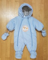 Baby boy snow suite 2-4 months in Baumholder, GE