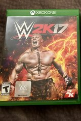 WWE 2K17 Xbox One Game in Camp Lejeune, North Carolina