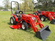 2017 Branson Tractor 24hp w/ front loader & belly mower in Leesville, Louisiana