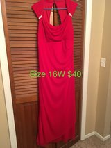 Red Floor Length Formal in St. Louis, Missouri