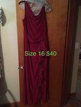 Burgundy Floor Length Formal in St. Louis, Missouri