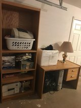 Matching Desk & Cabinet in Lawton, Oklahoma