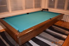 "Solid wood ""very heavy"" billiard table in Fort Benning, Georgia"