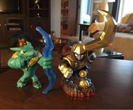2 Skylander Figures in Sugar Grove, Illinois