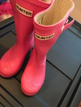 PINK HUNTER RAIN BOOTS in Tomball, Texas
