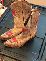 GIRLS CORRAL COWBOY BOOTS in Tomball, Texas
