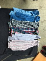 Lot of 6 4T button up dress shirts in Camp Lejeune, North Carolina