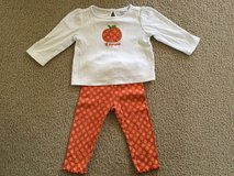 Gymboree Lil Pumpkin Outfit...size 12-18m in Yorkville, Illinois