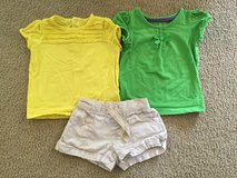 2 shirts & shorts...size 18m in Naperville, Illinois