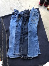 Girls Jeans size 5t (4 pairs) in Camp Lejeune, North Carolina