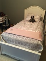 Twin Bed frame with 3 side drawers in Aurora, Illinois