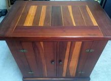 Solid Redwood Custom Built Cabinet, approx 3' tall x 2' wide in Sugar Land, Texas