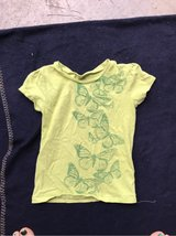 Lime Green butterfly tshirt in Camp Lejeune, North Carolina