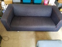 Ikea Klippan Love Seat with Denim Slip Cover in OCEANSIDE in Temecula, California