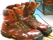 MEN'S COMPOSIT STEEL TOE, LACE-UP LEATHER BOOTS SIZE 12-13 in Katy, Texas