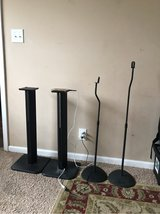 speaker stands in Fort Campbell, Kentucky