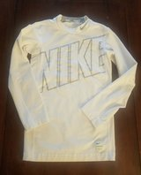 White Nike Compression Shirt Youth Medium M in Fort Campbell, Kentucky