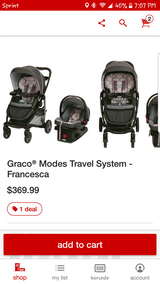 Graco Modes Travel System Francesca in Vacaville, California
