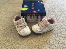 Stride Rite leather velcro shoes...size 5.5 in Naperville, Illinois