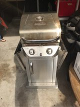 Stainless gas grill in Kingwood, Texas