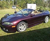 Mitsubishi eclipse convertible in Warner Robins, Georgia