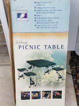 Folding Picnic Table in Naperville, Illinois