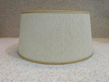 MCM Drum Lamp Shade light neutral tweed 12 x 14 inches very good condition LOMBARD in Naperville, Illinois