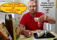 Pension solution with mushroom coffee in Los Angeles, California