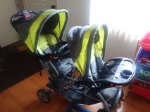 Baby Trend Sit N Stand Double Stroller in Waukegan, Illinois