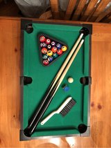Reduced!~Table Top Pool Table set (miniature)~ in Plainfield, Illinois