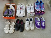 girl shoes from size 3 YOUTH TO 12/13 TODDLER in Wilmington, North Carolina