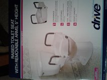 Toilet seat height extender by Drive. in Yorkville, Illinois