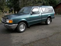 1997 Ford Ranger , Runs & Drives Good with Canopy in Fort Lewis, Washington