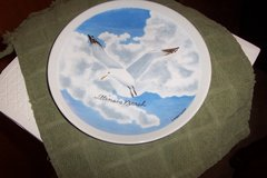Seagull Plate from Illinois in Conroe, Texas