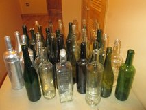 Empty Wine/liquor bottles in Bartlett, Illinois