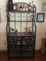 Bakers/Wine Rack, Iron and Marble in Eglin AFB, Florida