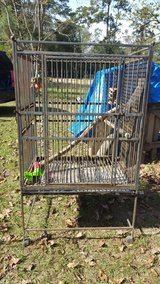Large Metal Bird Cage in Cleveland, Texas