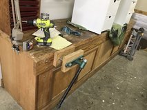 Heavy duty shop work bench in Kingwood, Texas