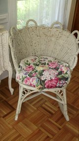 shabby chic victorian rocker in Naperville, Illinois