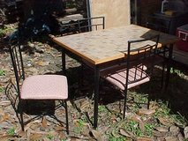 Dinette Table with 4 Chairs in Beaufort, South Carolina