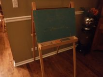 Vintage Wood Children's Chalk Board Art Painting Easel in Naperville, Illinois
