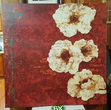 "Oversized Floral Canvas Art 36"" x 36"" 1.5"" in Baytown, Texas"