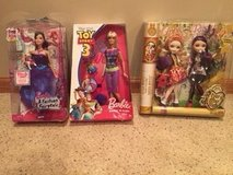 Barbies and Ever After High Dolls.  All New in Box in Lockport, Illinois