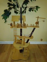 Melissa & Doug Wooden Tree House with furniture and dolls! in Naperville, Illinois