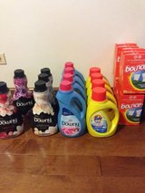 Downy / Tide / Bounce laundry products in Aurora, Illinois
