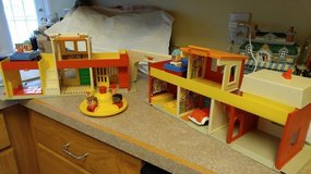 vintage little people village playset in Cherry Point, North Carolina