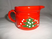 Waechtersbach Christmas Tree Wht Dot CREAMER PITCHER Discontinued 1992-2012 in Orland Park, Illinois