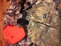REDUCED Hunting youth overalls and jacket in Naperville, Illinois