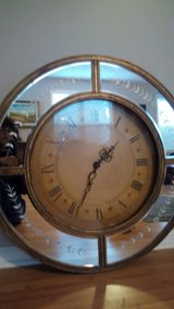Etched Glass Clock/Mirror in Beaufort, South Carolina