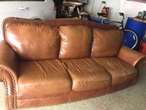 Leather Couch in Oswego, Illinois